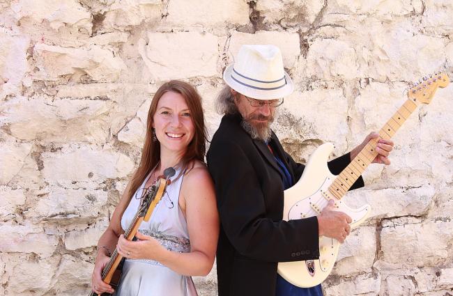 Holly Hyatt and Jon Burden
